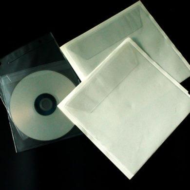 pochette plastique cd