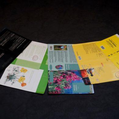 couvertures de livres en PVC