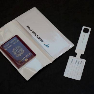 porte badge -étiquette valise